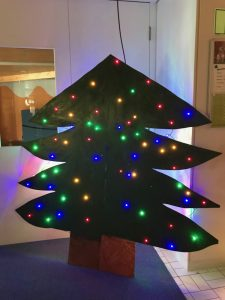 Weihnachtsbaum 2020 drinnen